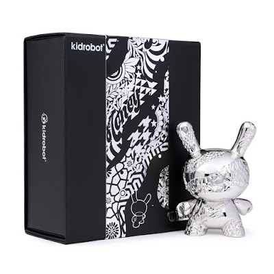 "New Money 5"" Metal Dunny Art Figure by Tristan Eaton x Kidrobot"