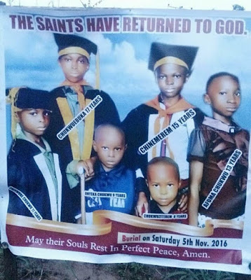 Heartbreaking Photos Of 6 siblings Reportedly Poisoned To Death Set To Be Buried (Photos)