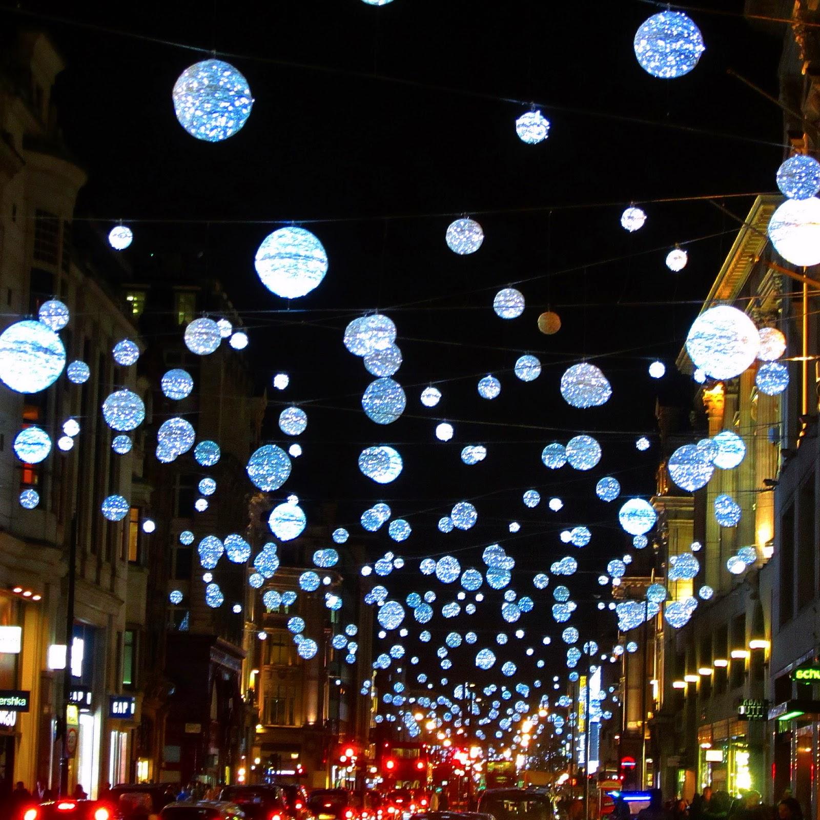 Ham Life: Christmas lights on Oxford Street 2014