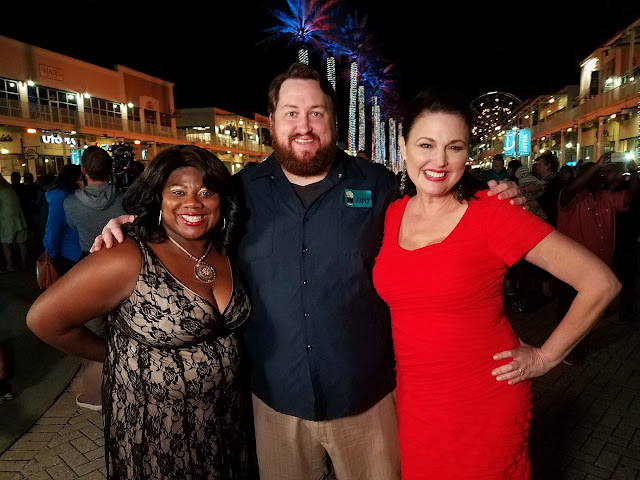 Cassandra King, Jay Ducote and Suzanne Clark at WFC 2016
