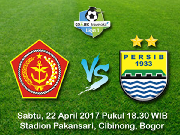 Persib VS PS TNI 22 April 2017