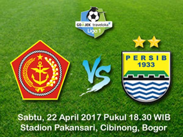 Persib VS PS TNI 22 April 2017
