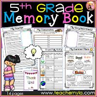 5th-grade-memory book
