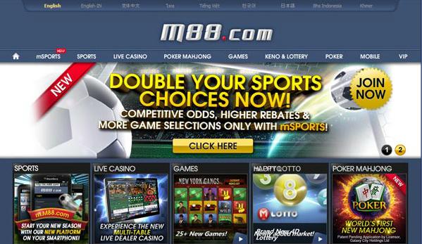 M88.com Taruhan Sports Online Populer di Indonesia