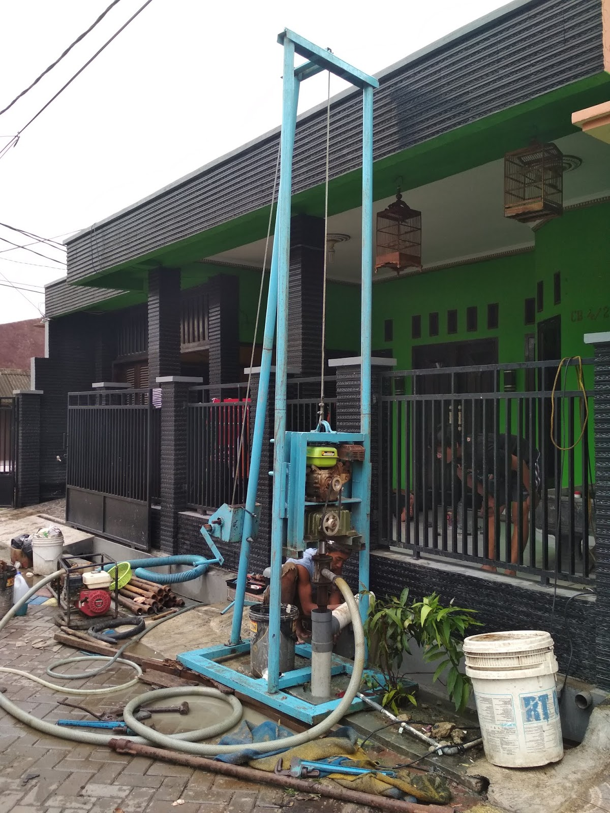 service pompa air dan bor air sumur murah bergaransi