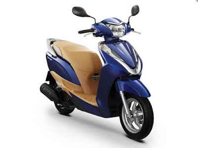 2016 Honda Lead 125 cc Scooter blue color Hd Photos
