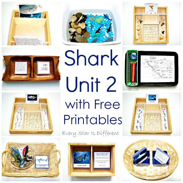 Shark activities and free printables