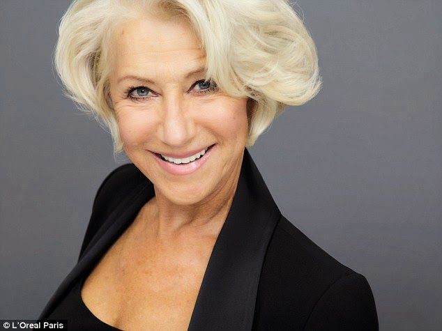 Helen Mirren: the new face of L'Oréal
