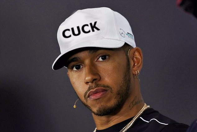 """LEWIS HAMILTON BECOMES """"FASTEST CUCK IN THE WEST"""""""