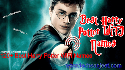 Harry Potter Wi-Fi Names