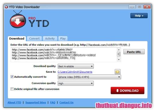 Download YTD Video Downloader PRO 5.9.11 Full Cr@ck