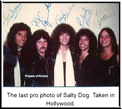 Last pro-shot photo of Salty Dog