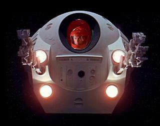 2001 Dave Bowman in a pod
