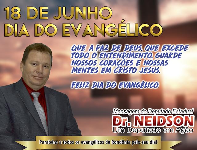 18 de Junho - Dia do Evangélico