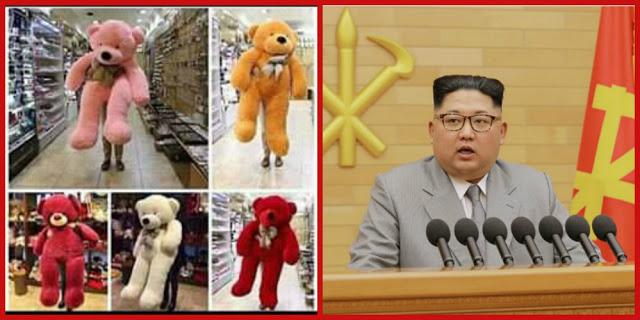"""زعيم كوريا الشمالية:  عقوبة الإعدام لكل شخص يشتري """" دبدوب """" لعيد الحب"""