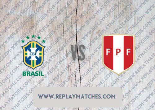 Brazil vs Peru -Highlights 10 September 2021