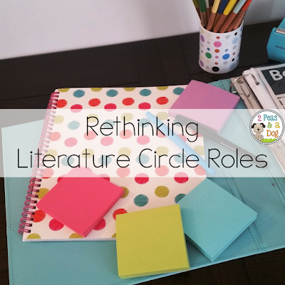 Change up your literature circle roles this year with these new reading ideas.