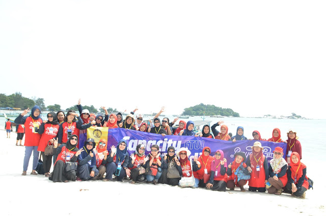 Ghatering di Belitung bersama Universitas Indonesia