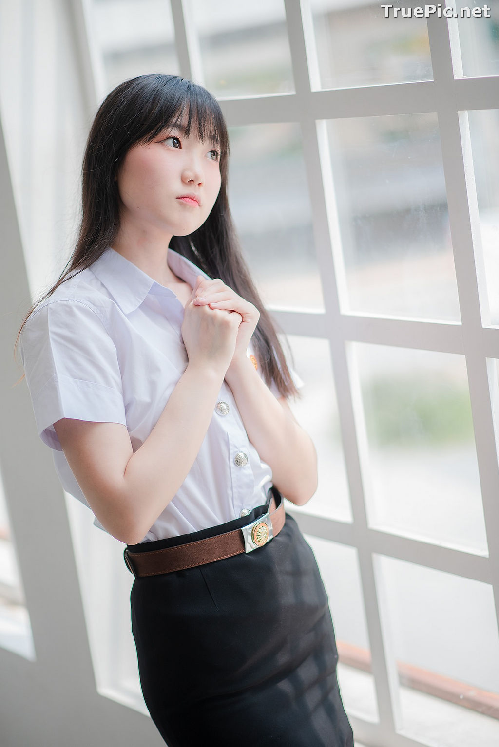 Image Thailand Model - Miki Ariyathanakit - Cute Student Girl - TruePic.net - Picture-4