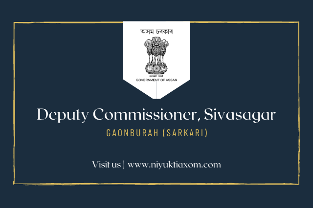 sivasagar district recruitment