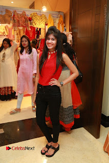Bollywood Actress Sana Khan Launches Aakrithi Exibition  0205.JPG