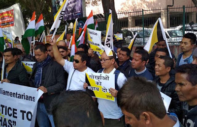 For Gorkhaland, JAP activists detained in Delhi
