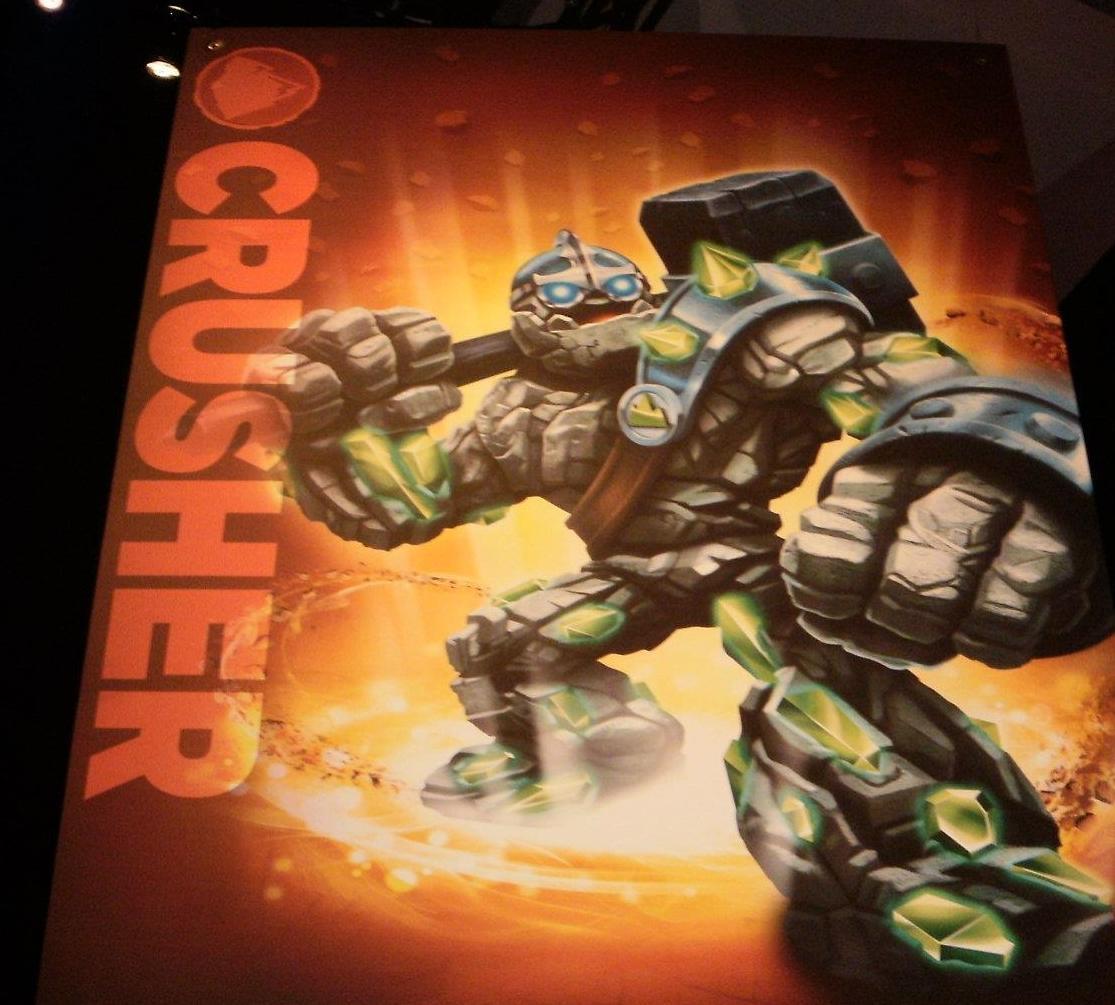 PortalMaster: Skylander Giants: Crusher