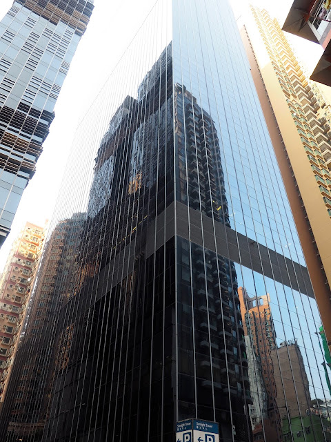 Buildings in Wan Chai, Hong Kong