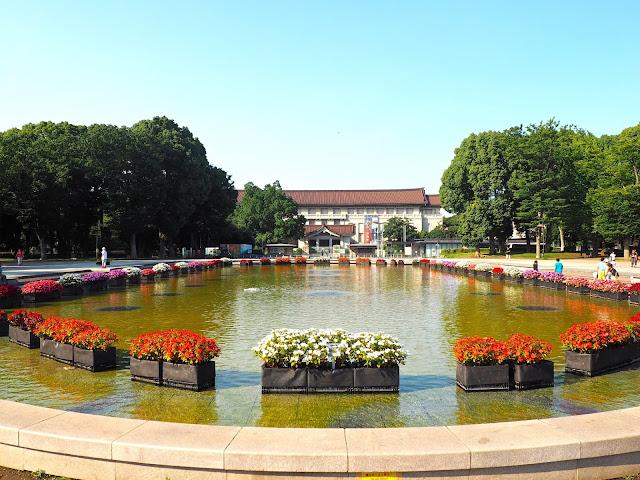 National Tokyo Museum in Ueno Park, Tokyo, Japan