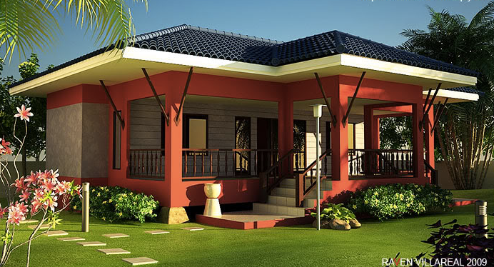 Simple house style in the philippines