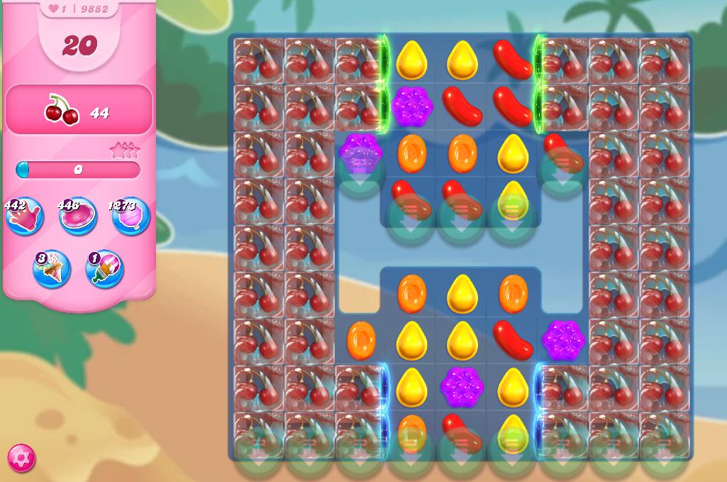 Candy Crush Saga level 9882