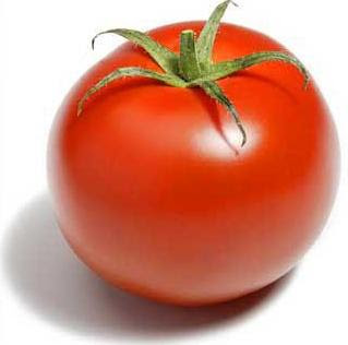 Foto de tomate con sus cáliz