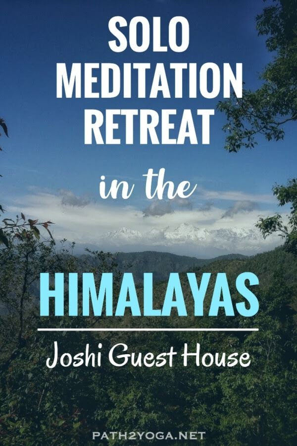 Solo Meditation Retreat in the Himalayas