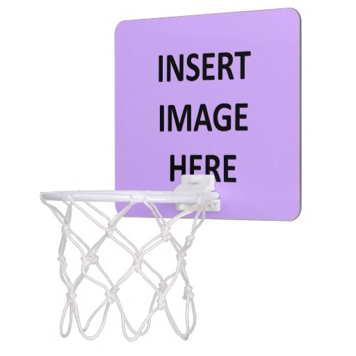 Envy My Tee News Custom Mini Basketball Goal