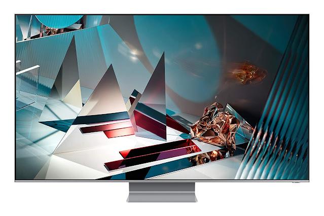 Samsung 165 cm (65 inches) 8K Smart QLED TV QA65Q800TAKXXL (Eclipse Silver) (2020 Model) With Quantum 8K Processor