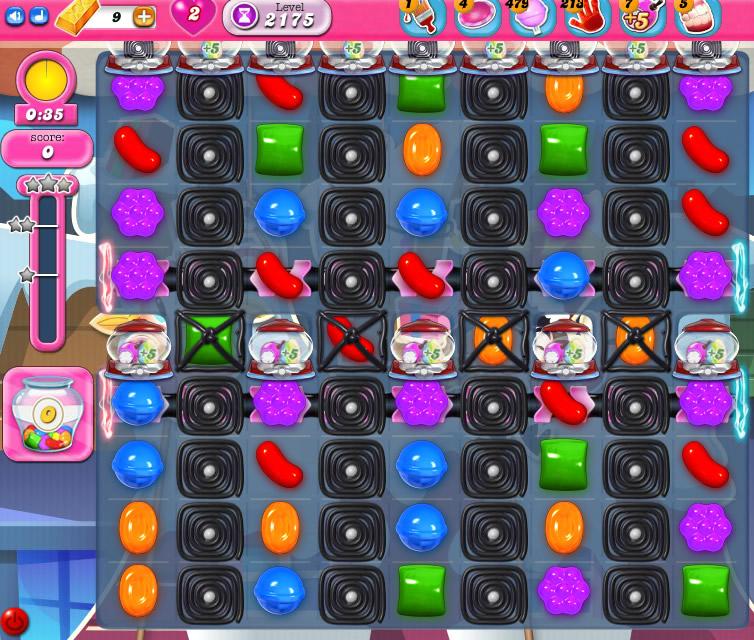 Candy Crush Saga level 2175