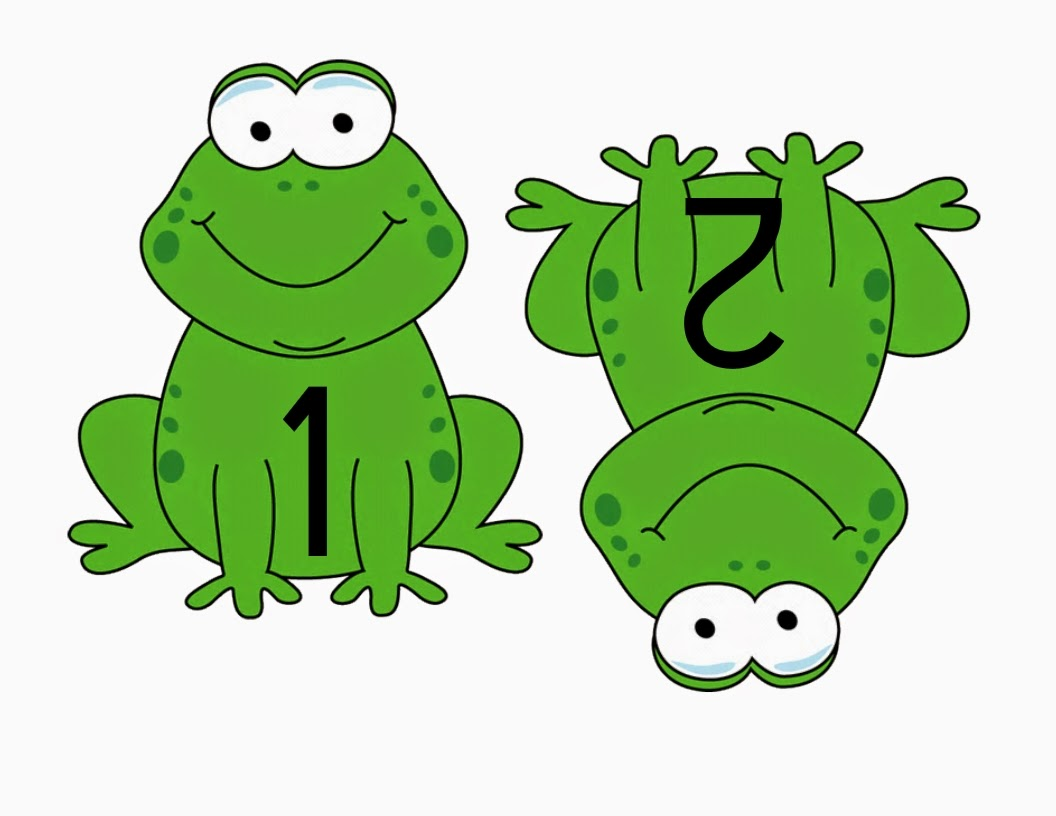 Counting With Frogs Printable