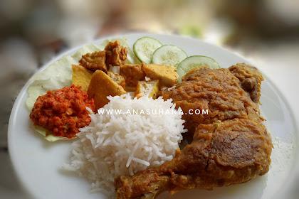 Resepi Nasi Ayam Penyet Simple