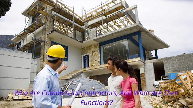 Who Are Commercial Contractors