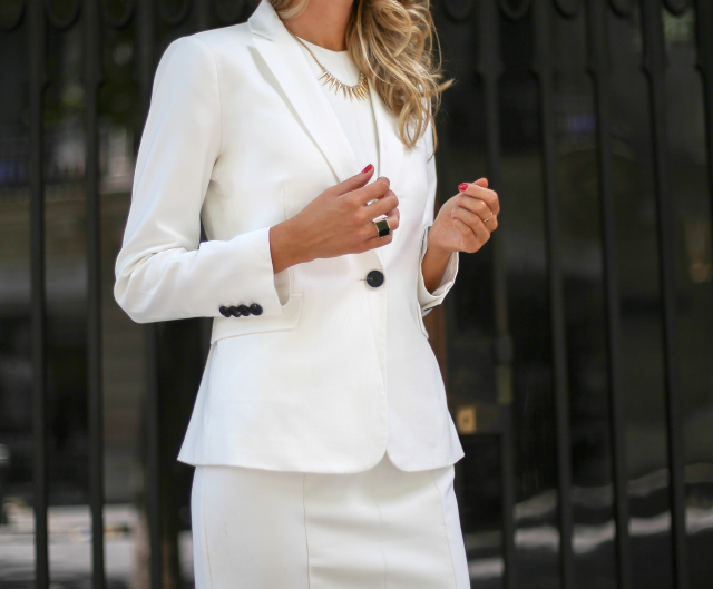 White Sheath Dress Trilogy Part II CONSERVATIVE