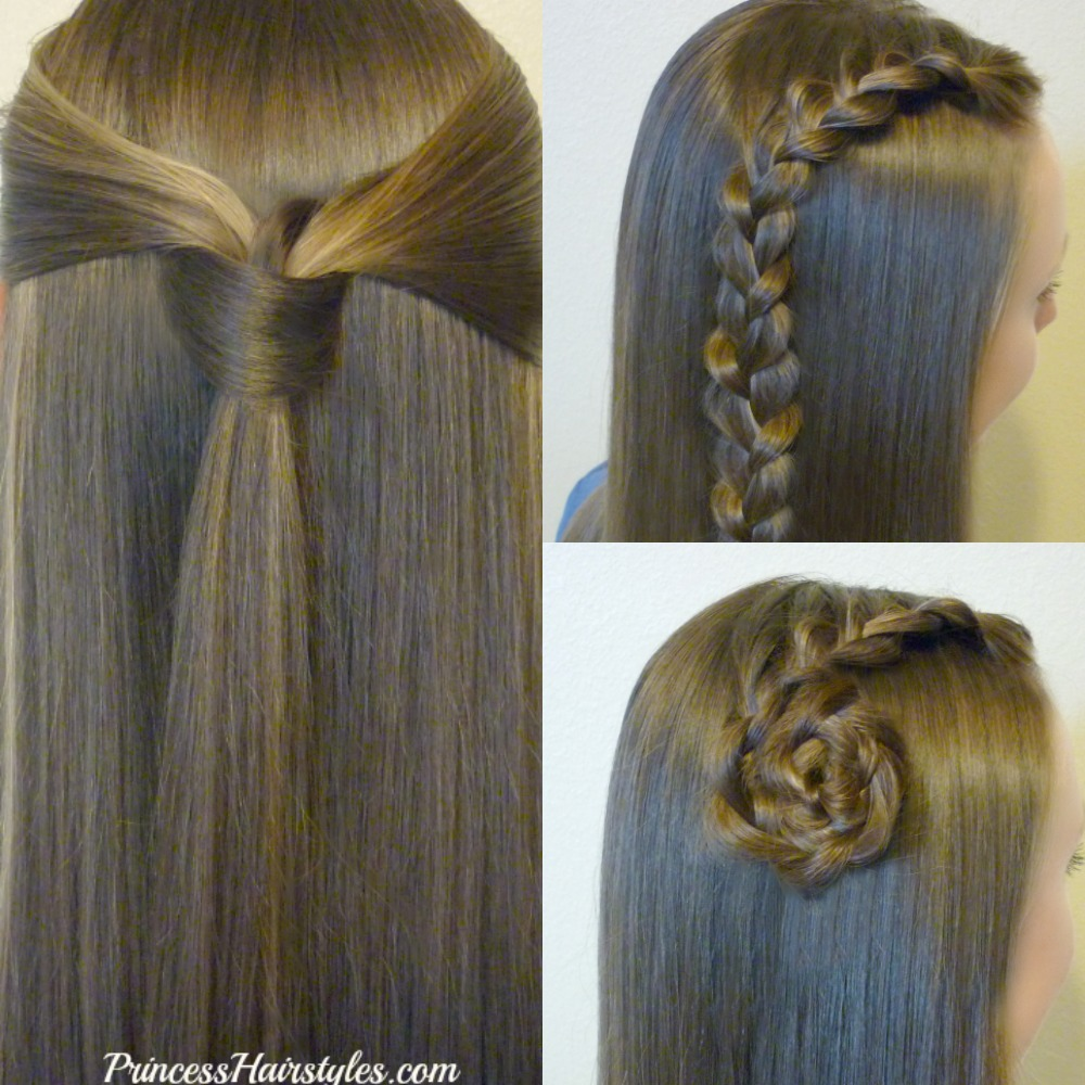 3 Back To School Hairstyle Ideas. Quick And Easy Video Tutorials.