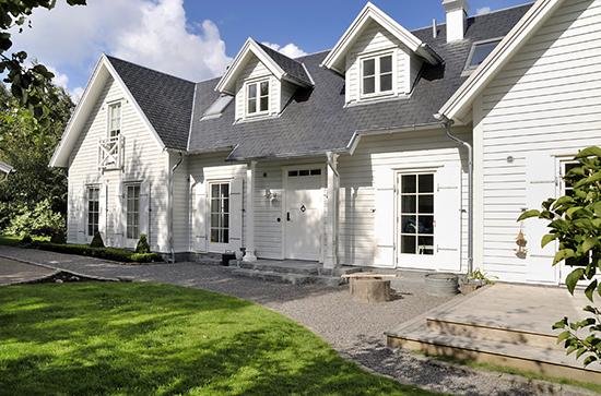 twin house bergaya scandinavian