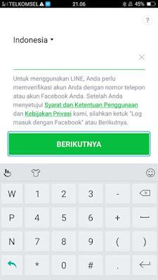 Cara Mendaftar LINE di Android 2