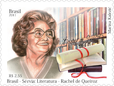 Resultado de imagem para selo de RACHEL DE QUEIROZ