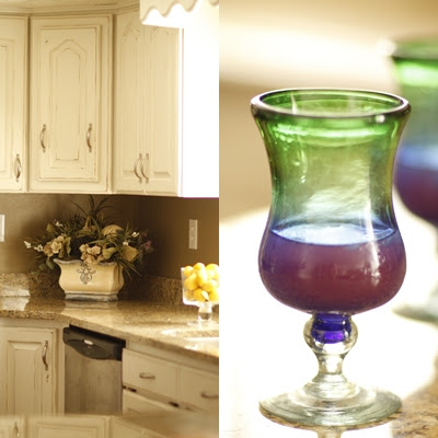 Rachel S Kitchen Makeover Purple Chocolat Home