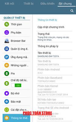Tiếng Việt Samsung T337A alt