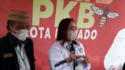 Grace Tielman Kembali Nahkodai DPC PKB Manado