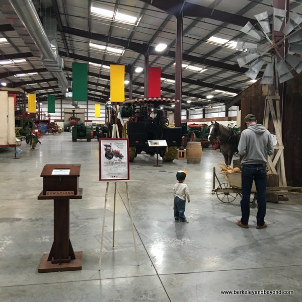 inside entrance to California Agriculture Museum in Woodland, California