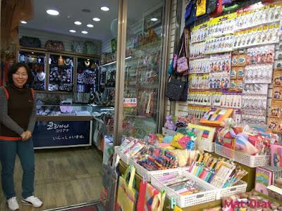 Tempat menarik di Busan Korea Gukje Market Interesting Place souveniour