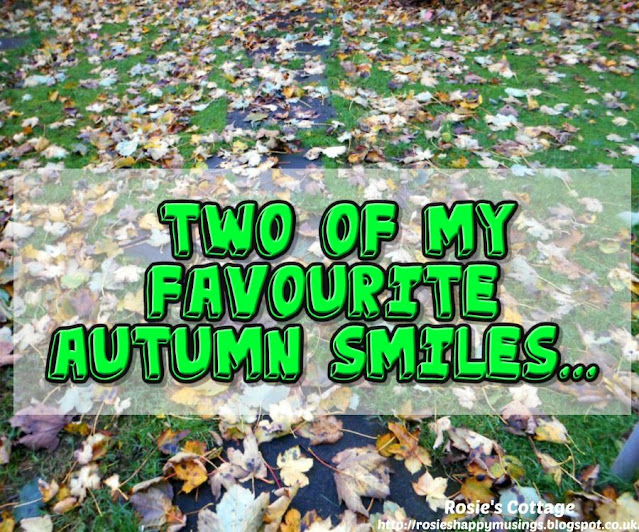 Two of my favourite autumn smiles :)